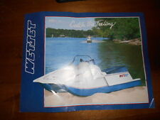 Vintage 1986 Wet Jet 428 International Dealer Brochure One Sheet