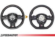 Échange S-LINE Aplati Volant Multifonction Foulard en Cuir Audi A4, A6, A8