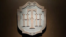 Disney World Tower Of Terror Plaque Hth Hollywood Tower Hotel aged finish