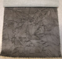 crushed velvet upholstery fabric color granite by the yard 54 wide fabric