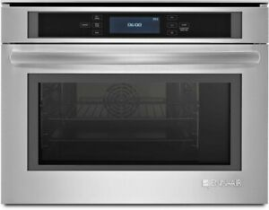 """JennAir Euro-Style 24""""Stainless Steel Single Steam Electric Wall Oven JBS7524BS"""