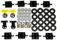 ☀�New City Car Truck Tires Axles Steering Wheels Small Tread Mph Gauges 48 Parts