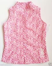 Girls' Floral Sleeveless 100% Cotton T-Shirts, Top & Shirts (2-16 Years)