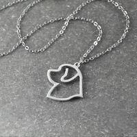 Newfoundland necklace Newfoundland pendant animal necklace pet memorial gift