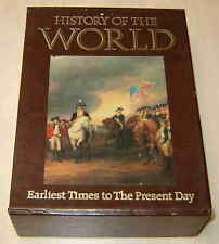 HISTORY OF THE WORLD -3 BOOK BOX SET-EARLIEST TIMES to PRESENT DAY from AMS 1988