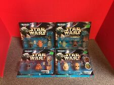 Micro Machines Star Wars Mini Heads Collections Lot Of 4 Galoob 1996