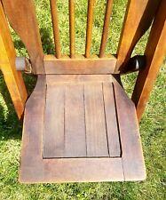 Antique Parkhurst Bros Chair Company, Detroit MI wood/metal folding child chair