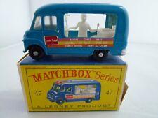 VINTAGE MATCHBOX LESNEY No.47b COMMER LYONS MAID ICE CREAM VAN ORIGINAL BOX 1963