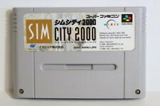 Sim City 2000 SFC Nintendo Super Famicom SNES Japan Import US Seller SHIP FAST