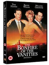 THE BONFIRE OF THE VANITIES TOM HANKS BRUCE WILLIS WARNER UK R2 DVD NEW & SEALED