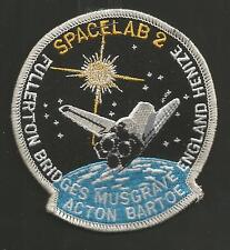 SPACELAB 2   PATCH  3 5/8 ""