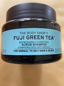 BN The Body Shop Green Fuji Tea Hair Scrub Shampoo 240ml