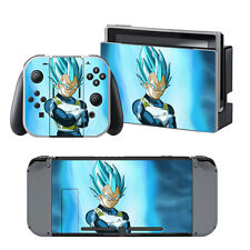 Nintendo Switch Dragonball Super Saiyan Blue Vegeta Skin Decals Stickers