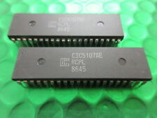 CIC5107AE, IC VINTAGE DE CIC. DIP40. STOCK DE UK. 2 JETONS PAR VENTE. £2 .50ea