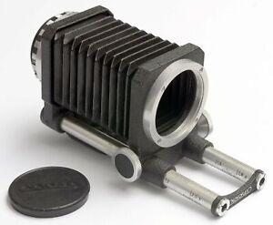 Novoflex Balgengerät M42 ++ Makro-Balgen für M42 Spiegelreflexkamera ++