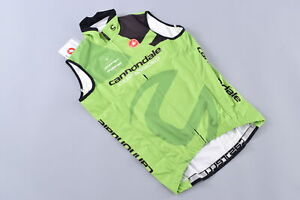 Castelli Thermal Vest Men's Small Cannondale Cyclocross World Pro Cycling Team