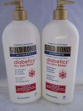 Gold Bond Ultimate Diabetic Dry Skin Relief Lotion 18oz each (2pk bundle)
