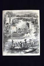 Il Tabacco Incisione del 1870
