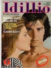 fotoromanzo IDILLIO ANNO 1980 NUMERO 215 SANTI DELYS ALIOTTI