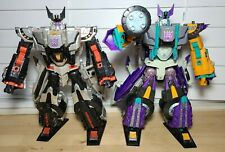 Transformers Cybertron Leader Class Megatron & Galvatron Figures