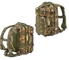 Zaino Tactical Back Pack 35 Litri DEFCON 5 Vegetato Militare Modulare Defcon5