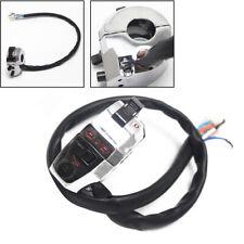 1PC Plating Motorcycle Handlebar Horn Turn Signal Fog Light Controller Switch