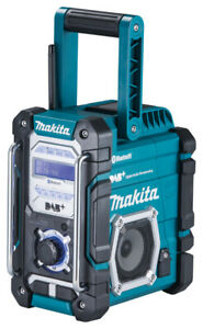 Makita Akku-Baustellenradio DMR112 - 7,2V-18V + Steckernetzteil - DAB/DAB+