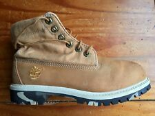 Timberland Roll Top Camo Boots Big Kid's Size 2 M