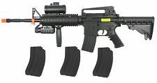 Double Eagle M83A2 AEG 6mm Airsoft Gun Rifle + 3 Extra Magazines