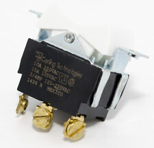 2 Tippette White Rocker Switches SPDT (On)-Off-(On) Screw Term (TIGC5S-1C-WH-A)