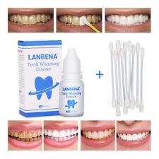 Poudre naturelle d'essence de blanchiment des dents LANBENA naturellement plus