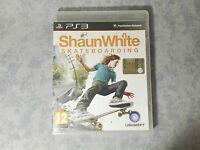 SHAUN WHITE SKATEBOARDING SONY PS3 PLAYSTATION PAL ITALIANO COMPLETO COME NUOVO