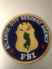 New Jersey  Police - FBI Atlantic City  NJ  Police Patch