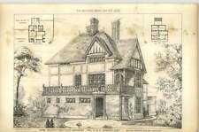 1879 House Recently Erected At Sevenoaks For Ps Brewer Esq