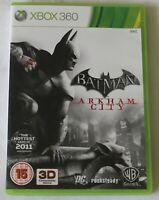 XBOX 360 Game Batman Arkham City PAL - Disc/Manual - Worldwide Shipping