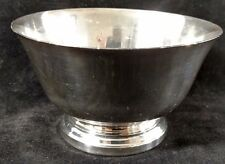 """Paul Revere Reproduction Sterling Silver 5"""" Bowl J Caldwell & Co Philly 737 189g"""