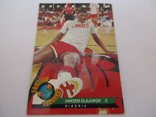 Carte NBA UPPER DECK 1992-93 FR #80 Hakeem Olajuwon Houston Rockets