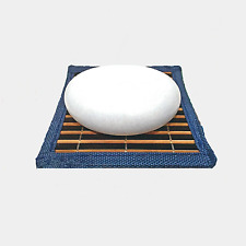 AMAZING THAI 100% Natural Crystal Deodorant Stone w/ Bamboo Counter Mat