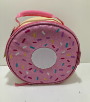 Arctic Zone Glitter Doughnut Insulated Antimicrobial Lunch bag NEW