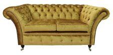 Chesterfield Design Luxus Polster Sofa Couch Sitz Garnitur Leder Textil Neu #232