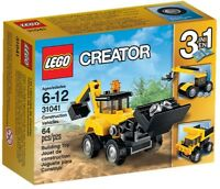 LEGO BNIB Creator 3 in 1 31041 Construction Vehicle truck crane mining mover