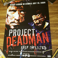 Project Deadman POSTER Prozak Mike E Clark Self Inflicted Tech N9ne ICP Twiztid