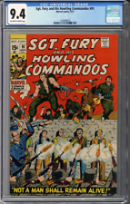 Sgt Fury and his Howling Commandos #91 CGC 9.4