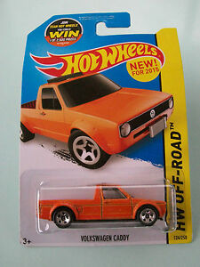 Hot Wheels 2015 HW Off-Road - VOLKSWAGEN CADDY #124/250 - New in Packet