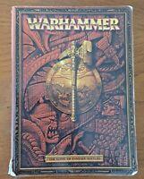 WARHAMMER The Game of Fantasy Battles Rule Book paperback