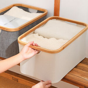 Laundry Basket Washing Clothes Storage Bag Hamper Toy Organizer Box Foldable Bin