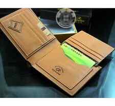 Fashion Mens PU Leather Wallet Pocket Card Clutch ID Credit Bifold Purse brown