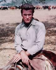 "Clint Eastwood ""Rawhide"" 8x10 TV  Memorabilia FREE US SHIPPING"