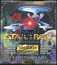Star Trek Master Series Trading Cards. Unopened box.