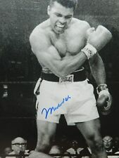 MUHAMMAD ALI  KO OVER LISTON SIGNED PHOTO ONLINE AUTHENTICS OA STEINER CERTIFIED